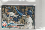 2018 Topps Series 1 & 2 & Update Team Set - Chicago Cubs (38 Cards)