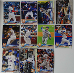2018 TOPPS Series 1 team set - NEW YORK METS (11 cards)