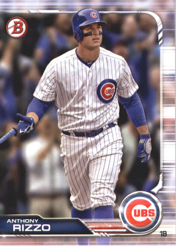 2019 Bowman Baseball  #18 Anthony Rizzo - Chicago Cubs