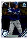 2019 Bowman Chrome Prospects Team Set - Seattle Mariners Series 1