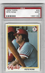 1978 TOPPS PETE ROSE #20 PSA 9 MINT