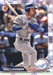 2019 Bowman Baseball  #2 Cody Bellinger - Los Angeles Dodgers