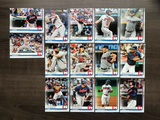 Cleveland Indians Team Set 2018-2020 (3 Sets) Topps Series 1