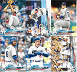 2018 Topps Series 1 & 2 & Update Team Set  Los Angeles Dodgers - (40 Cards)