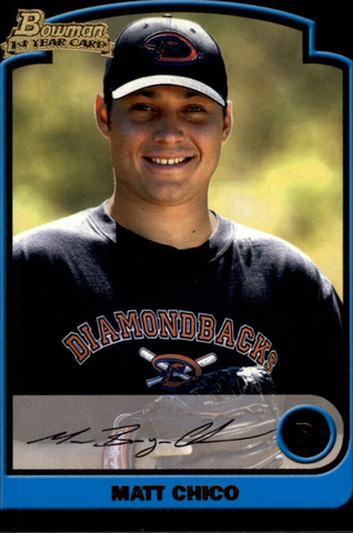 2003 Bowman Draft #54 Matt Chico RC