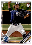 2019 Bowman Prospects Team Set - San Diego Padres