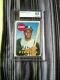 1969 Topps #50 Roberto Clemente BVG 4.5