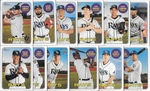 2018 Topps Heritage TAMPA BAY RAYS High Number Base Team Set