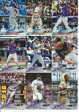 2018 TOPPS Series 1 team set - COLORADO ROCKIES  (15 cards)
