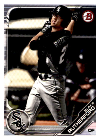 2019 Bowman Prospects Team Set - Chicago White Sox