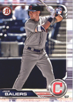 2019 Bowman Baseball  #76 Jake Bauers RC - Cleveland Indians