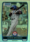 2012 Bowman Chrome Draft Draft Picks Refractors #BDPP31 Lewis Brinson