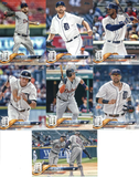 2018 Topps Series 2 Team Set - DETROIT TIGERS (7 cards)