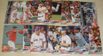 2018 TOPPS Series 1 team set - BOSTON RED SOX (14 cards)
