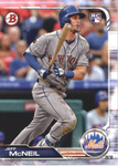 2019 Bowman Baseball  #90 Jeff McNeil RC - New York Mets