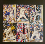 2018 Topps Series 2 Team Set - MILWAUKEE BREWERS (17 cards)