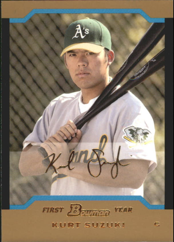 2004 Bowman Draft Gold #39 Kurt Suzuki