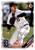 2019 Bowman Prospects Team Set - Detroit Tigers