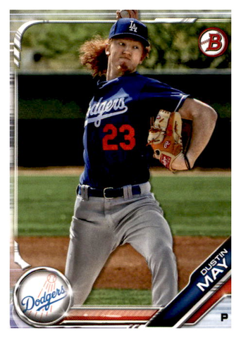 2019 Bowman Prospects Team Set - Los Angeles Dodgers