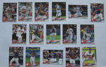 2018 TOPPS Series 1 team set - CLEVELAND INDIANS (16 cards)