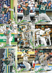 2018 Topps Series 2 Team Set - OAKLAND ATHLETICS  (9 cards)