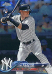 2018 Topps Chrome Base Yankees Team Set (13 Cards)