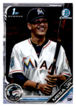 2019 Bowman Chrome Prospects Team Set - Miami Marlins Series 1