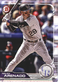 2019 Bowman Base Team Set - Colorado Rockies (2 Cards)