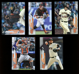 2020 Topps Series 1 San Francisco Giants Team Set (11 cards)