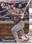 2019 Bowman Baseball  #85 Paul Goldschmidt - St. Louis Cardinals