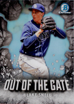 2016 Bowman Chrome Out of the Gate #OOG10 Blake Snell