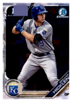 2019 Bowman Chrome Prospects Team Set - Kansas City Royals Series 1