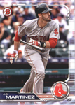 2019 Bowman Base Team Set - Boston Red Sox (2 Cards)