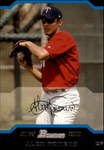 2004 Bowman #320 Alex Romero FY RC