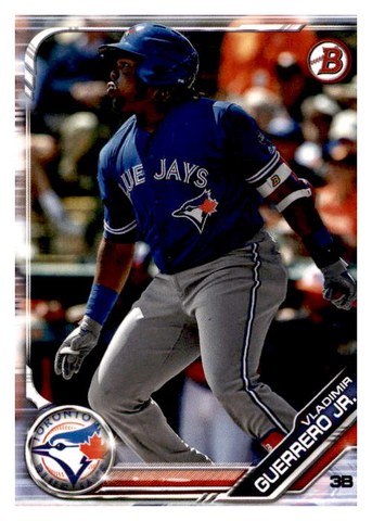 2019 Bowman Prospects Team Set - Toronto Blue Jays