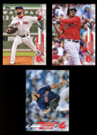 2020 Topps Series 1 Boston Red Sox Team Set (12 Cards)