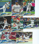 2018 TOPPS Series 1 team set - SAN DIEGO PADRES (8 cards)
