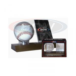 Woodbase Baseball and Card Holder - You will receive 4 of these