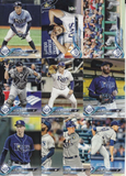 2018 Topps Series 2 Team Set - TAMPA BAY RAYS  (10 cards)