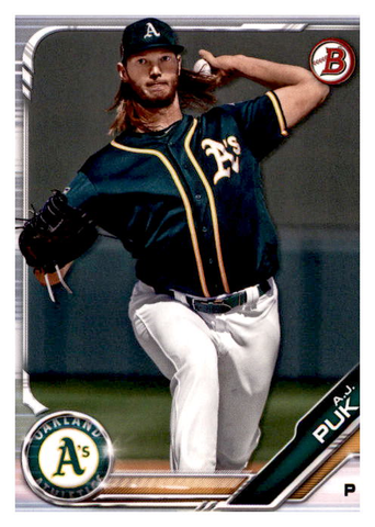 2019 Bowman Prospects Team Set - Oakland A's