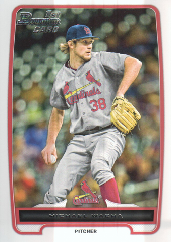2012 Bowman Draft Draft Picks #BDPP26 Michael Wacha