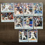 2019 Topps Series 1 Team Set San Diego Padres (10 Cards)