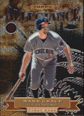 2000 Topps Chrome Allegiance #TA5 Mark Grace