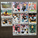 2019 Topps Series 1 Team Set Pittsburgh Pirates (12 Cards)