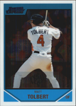 2007 Bowman Chrome Draft Future's Game Prospects #BDPP104 Matt Tolbert