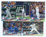 2018 TOPPS Series 1 team set - TORONTO BLUE JAYS (11 cards)