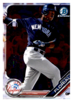 2019 Bowman Chrome Prospects Team Set - New York Yankees Series 1