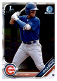 2019 Bowman Chrome Prospects Team Set - Chicago Cubs Series 1