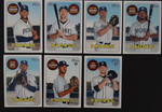 2018 Topps Heritage San Diego Padres Base High Number Base Team Set