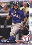 2019 Bowman Base Team Set - Texas Rangers (2 Cards)